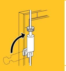 Side-loader haak